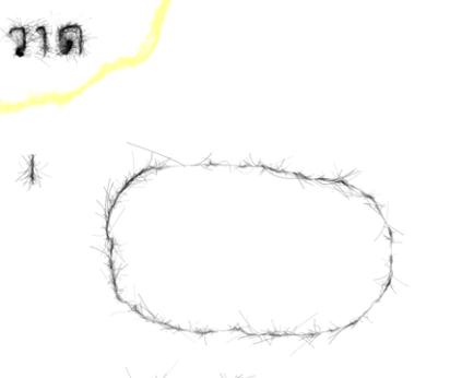 วาดรูปกระต่าย ขั้นที่ 1