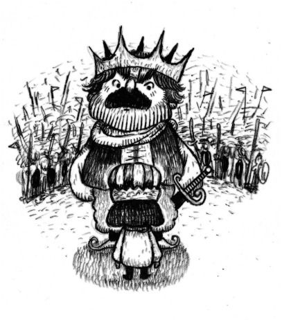 10) เมื่อเจ้าชายได้พบพระราชาจากประเทศข้างเคียง