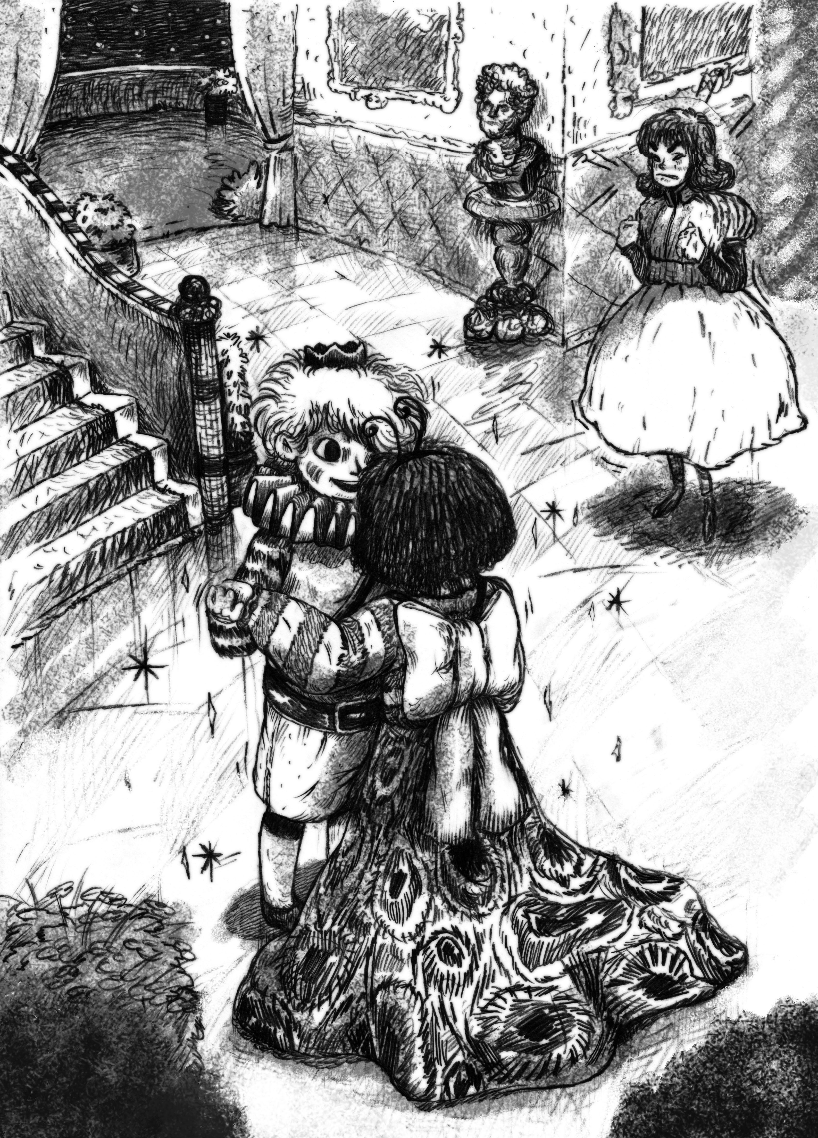 14) เจ้าชายเต้นรำกับสาวน้อย