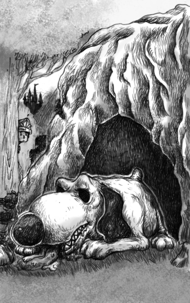 9) ชายหนุ่มพบหมาเฝ้าหน้าถ้ำ