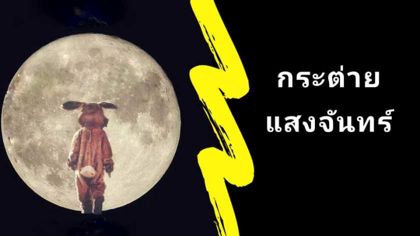 นิทานก่อนนอนเรื่องยาวยาว : กระต่ายแสงจันทร์